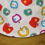 Fräulein Hübsch Mei Tai Äpfel Curry Babysize Design