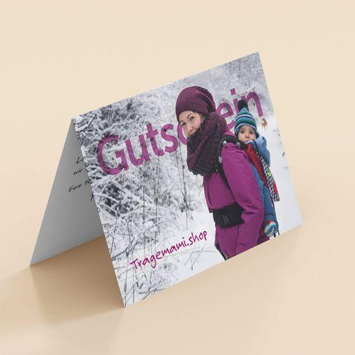 Gutschein | Motiv: Winterland