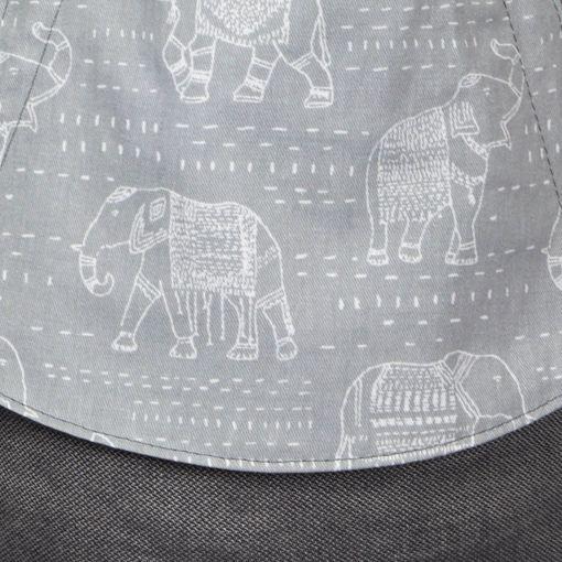 Fräulein Hübsch | Mei Tai | Elefanten Dunkelgrau
