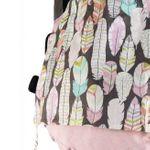 Buzzidil BuzziTai Pink Feathers Mei Tai Nah
