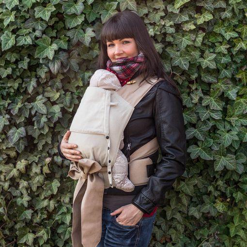 Fräulein Hübsch | Mei Tai | Einfärbig Natur