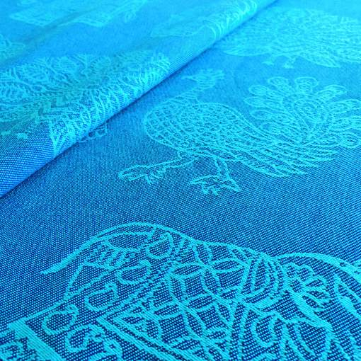 Didymos | Tragetuch | INDIA türkis Wolle